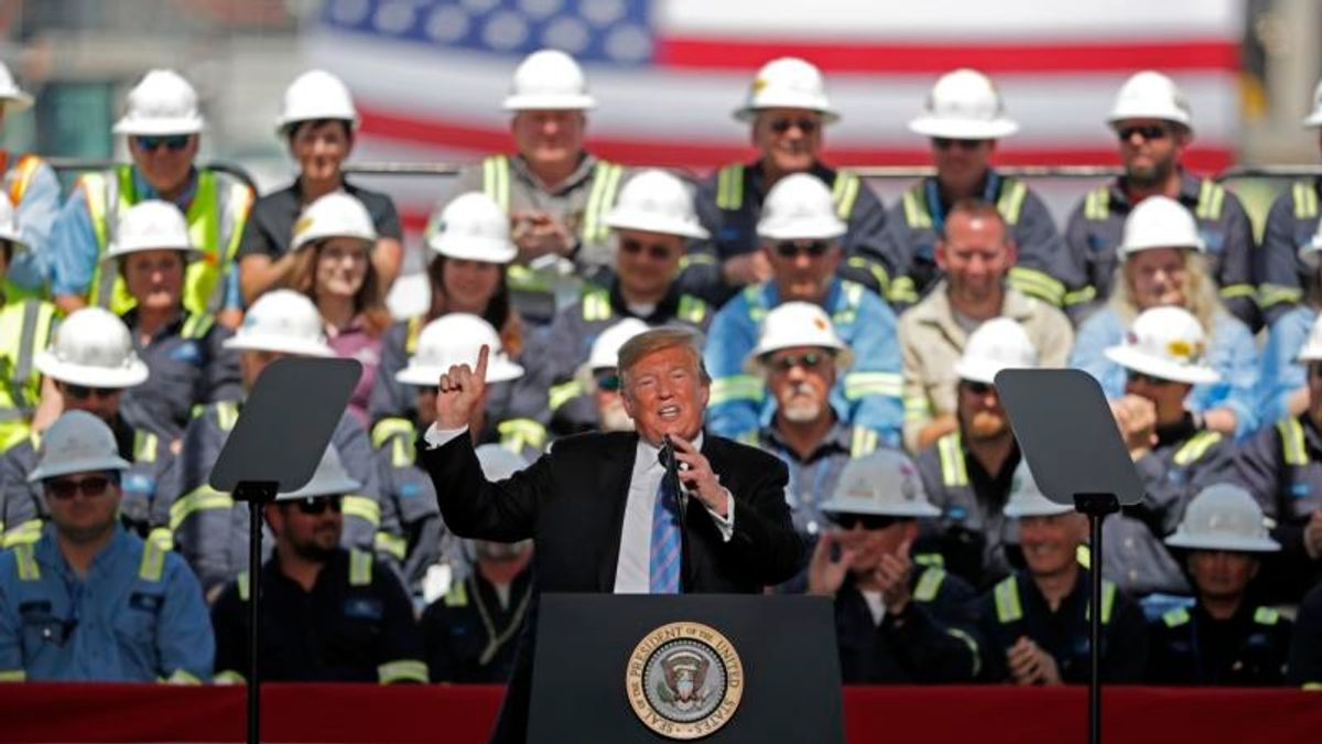 Trump Pushes 'America First Energy Policy' on Louisiana Trip