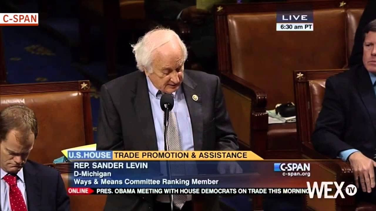 Congress debates Trade Promotion Authority