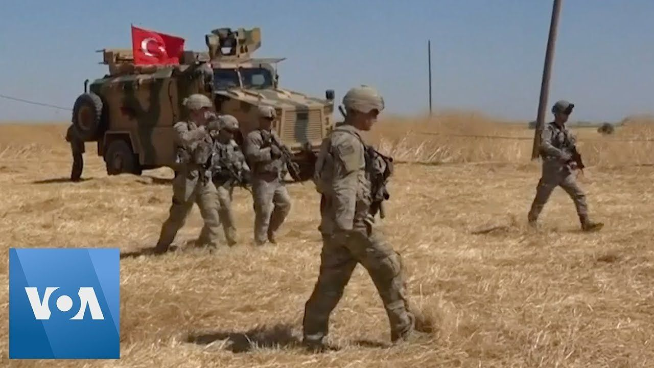 Turkey, US Begin 'Safe Zone' Joint Patrols in North Syria