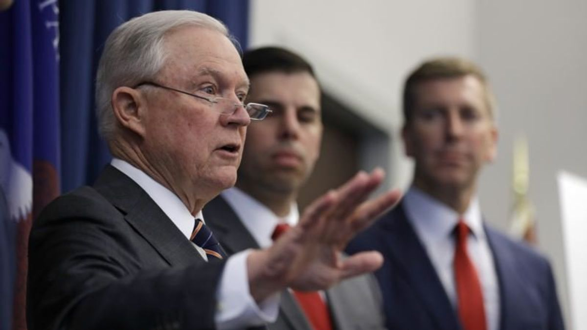 Sessions Hits Back at Trump Over Justice Department Criticism
