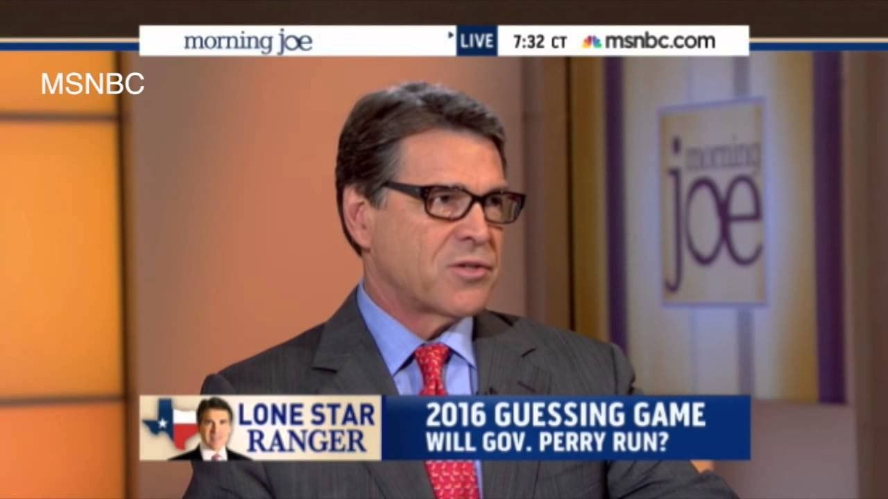 Rick Perry's security will knock you 'dead down'