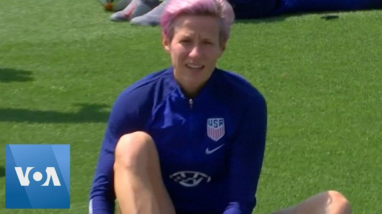 U.S. Women Soccer Team Trains After Making World Cup Final