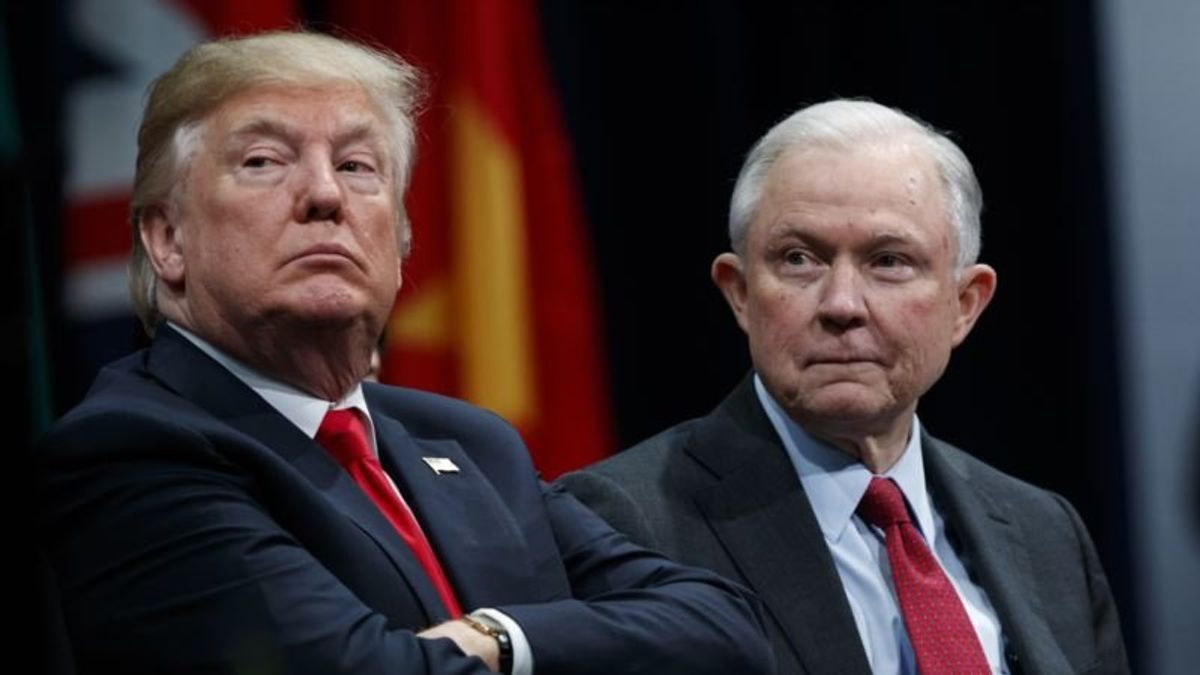 Trump-Sessions Feud Called Aberration in American Politics