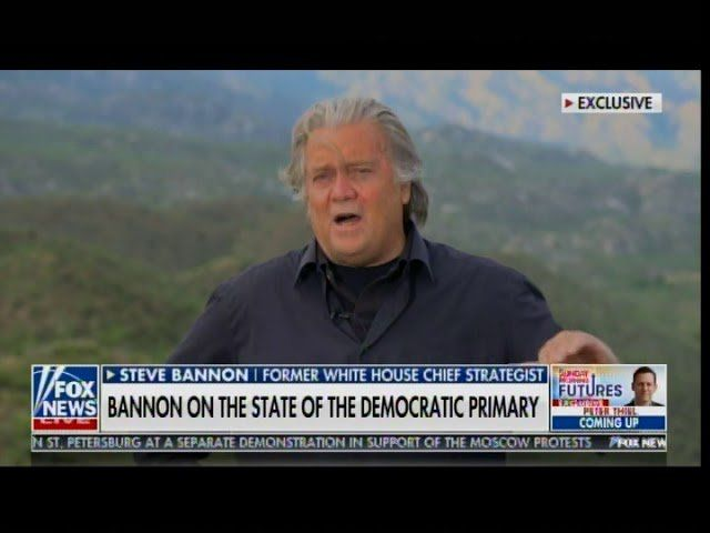 Steve Bannon: I Happen to See Trump Getting 40-50% of Hispanic Vote in this Country