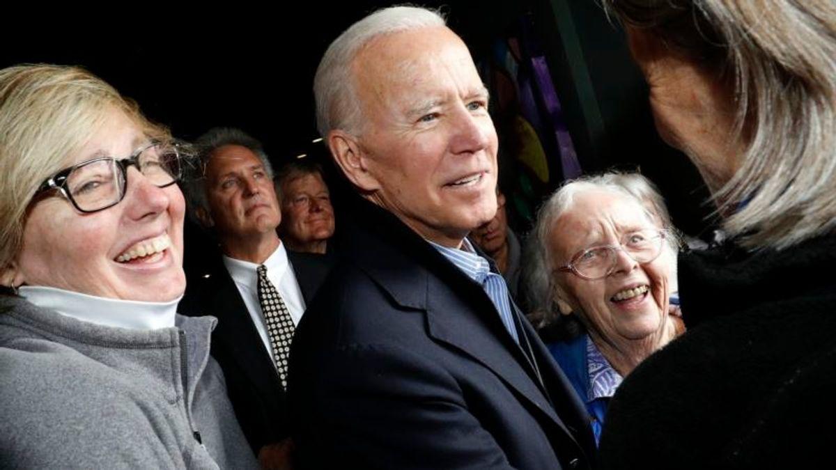 Biden Grows His Lead in Democratic Field Early in Race
