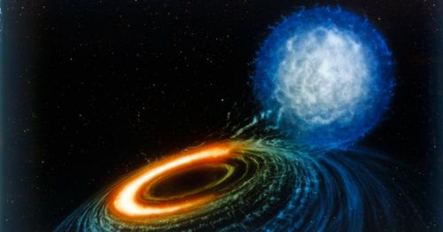 Astronomers observe black hole 'spaghettification' of a star for the first time