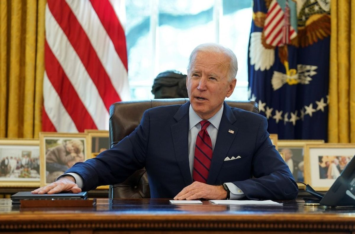 Polls: Americans Give Biden a Mostly Favorable Review at Three-Month Mark
