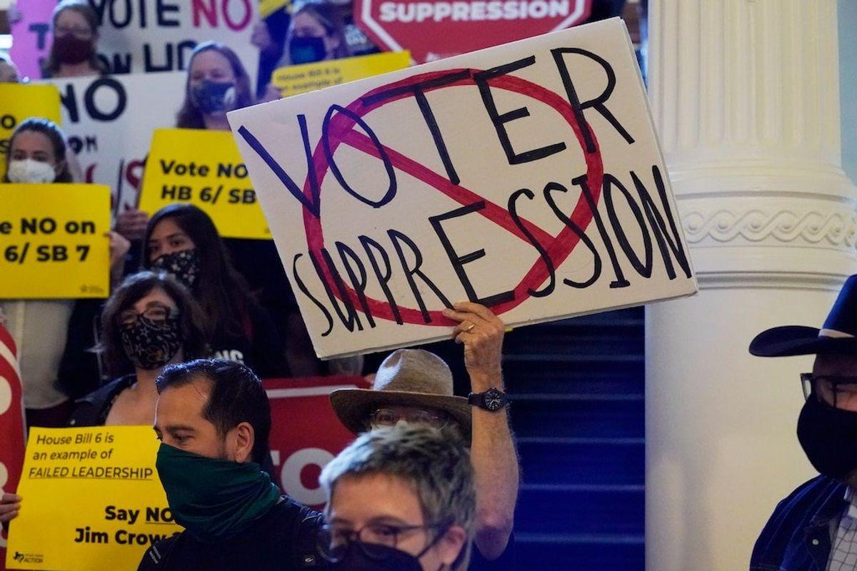 Texas Legislature Advances Voting Restrictions
