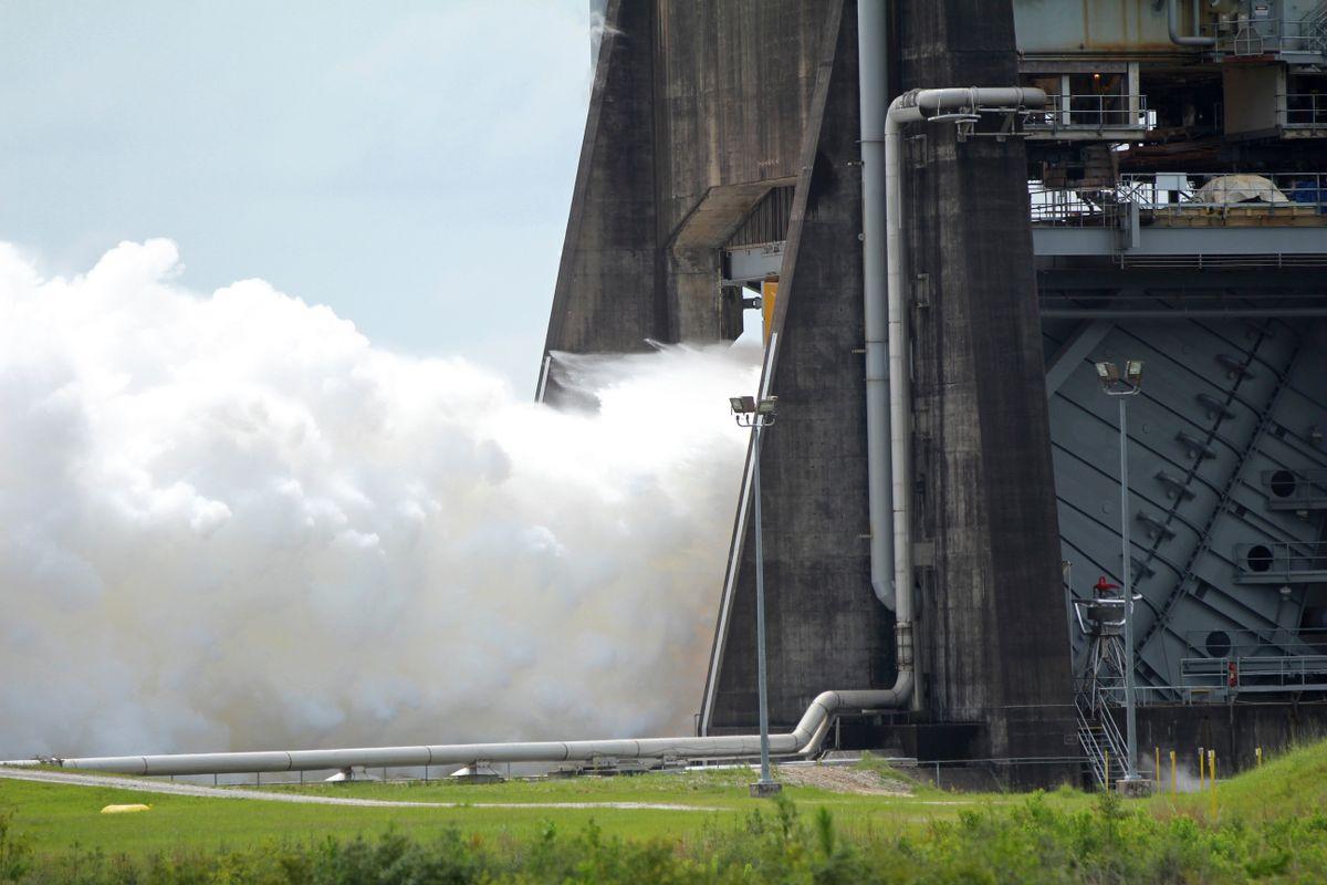 Audit: Costs, Delays Build for Boeing's NASA Rocket, Capsule