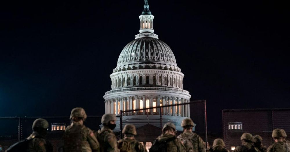 D.C. police request National Guard stay in the Capitol for another two months