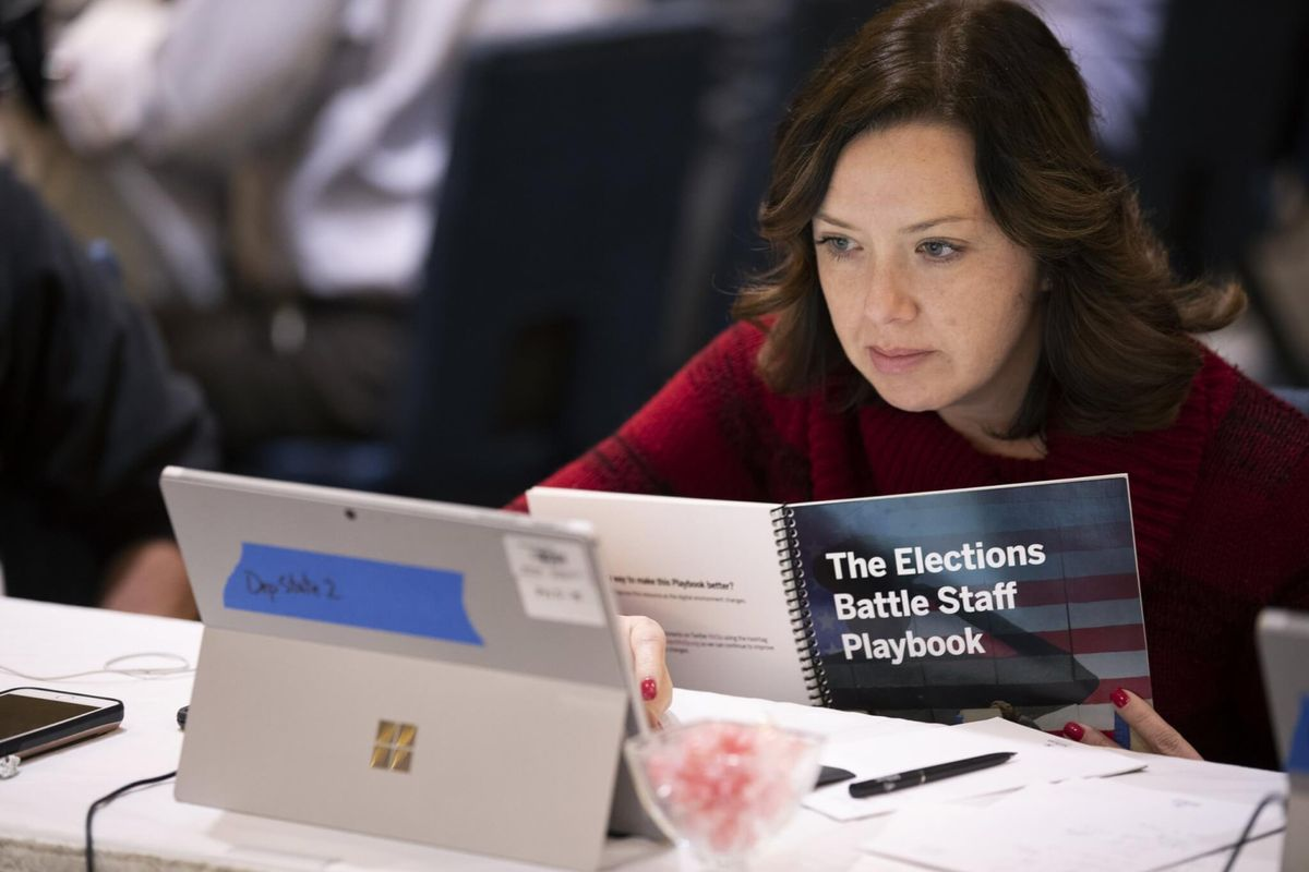 Election Officials Learn Military Mindset Ahead of 2020 Vote