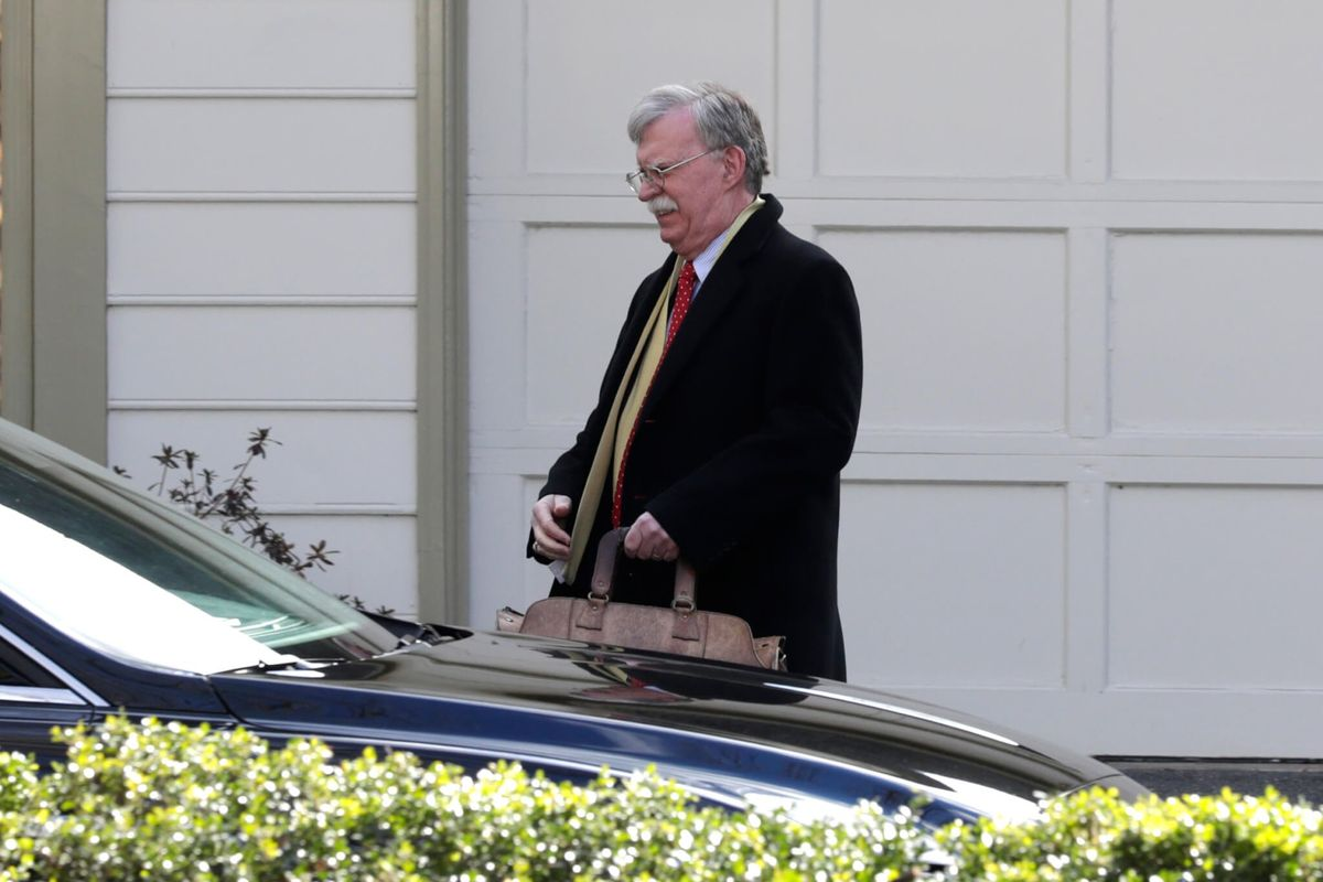 White House Objects to Bolton Book, Says It Can't Be Published in Current Form