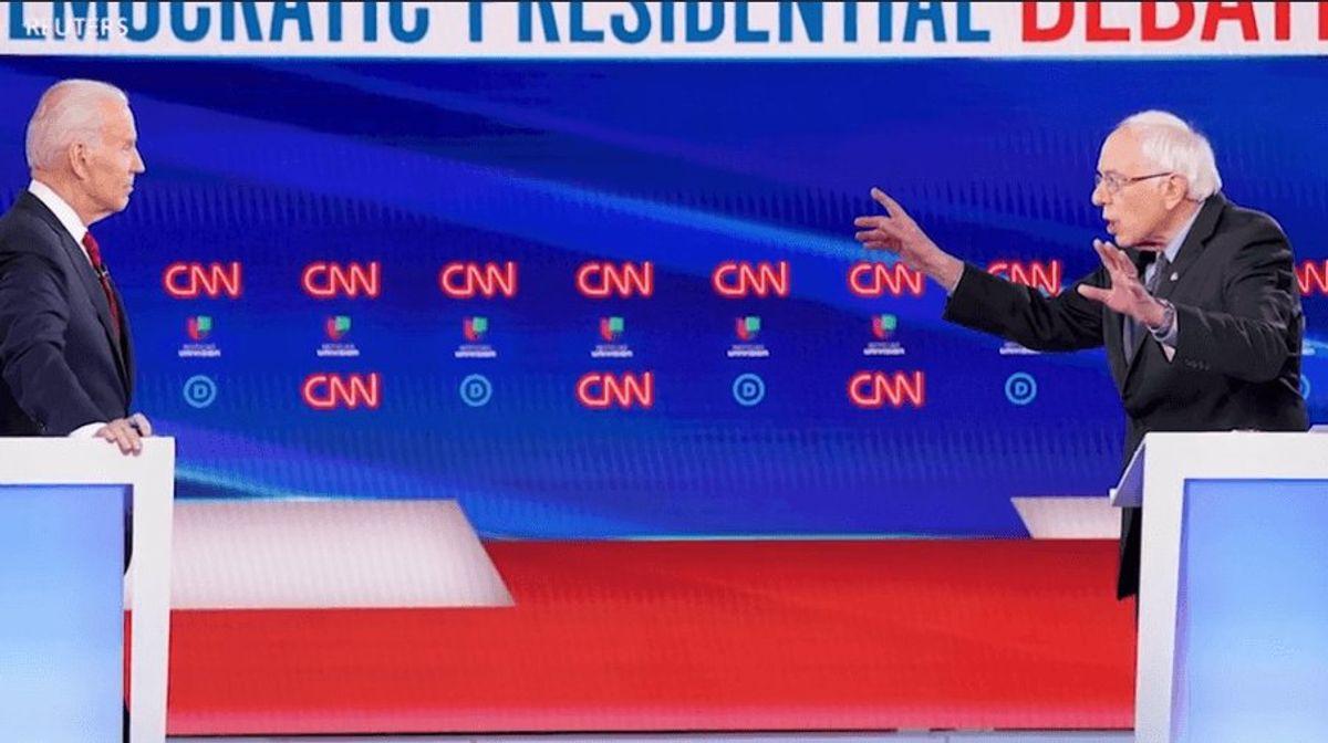 Sanders, Biden Debate Coronavirus Response
