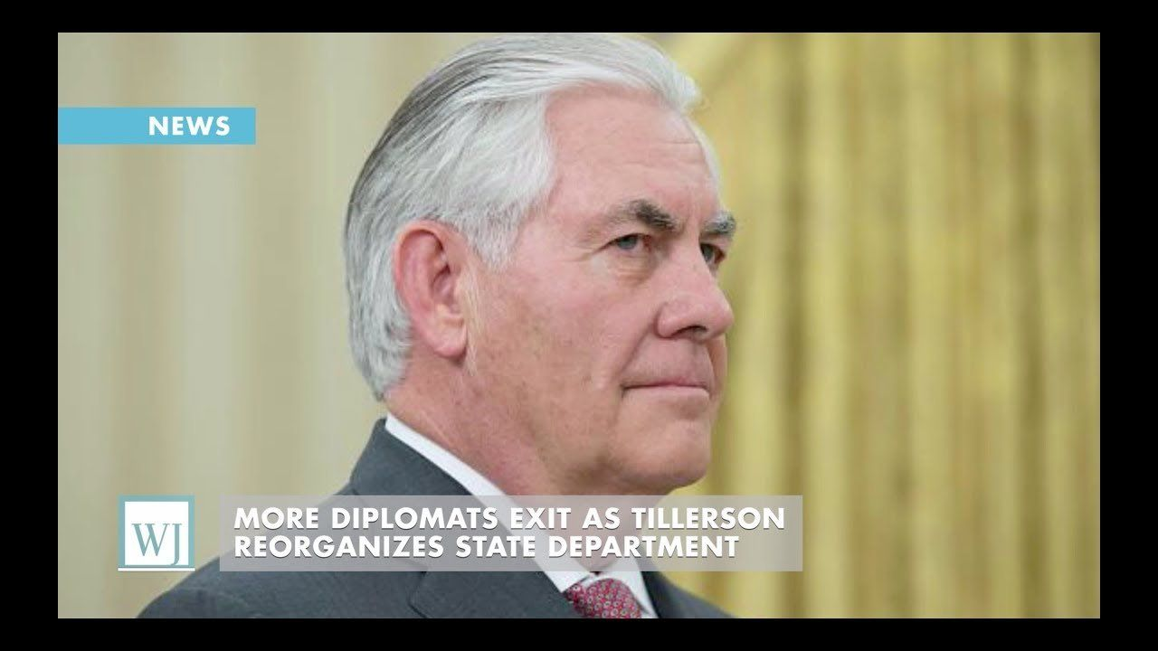 More Diplomats Exit As Tillerson Reorganizes State Department