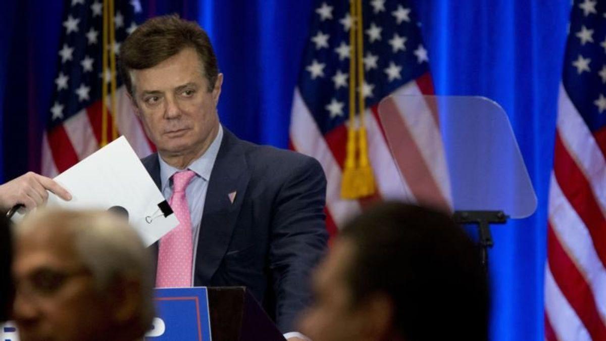 Mueller: Ex-Trump Campaign Chair Manafort Lied to Investigators