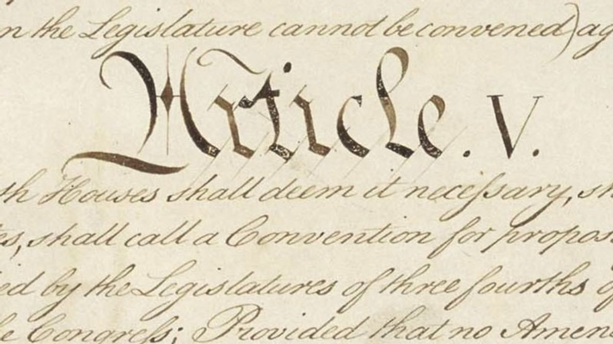 Beyond Midterms, Some Republicans Eye Amending Constitution