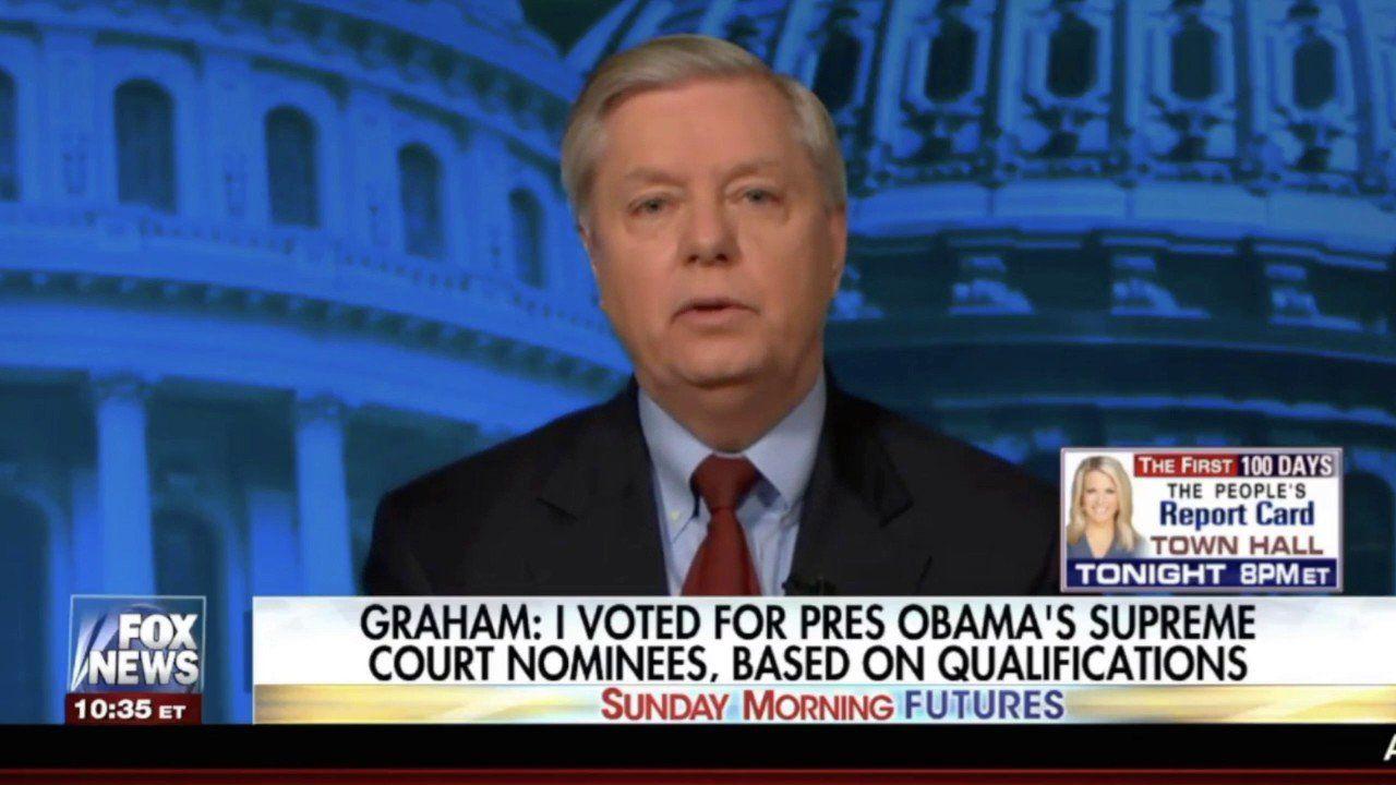 Lindsey Graham Defends Gorsuch Nomination; Calls Schumer A Destructive Force In the Senate!