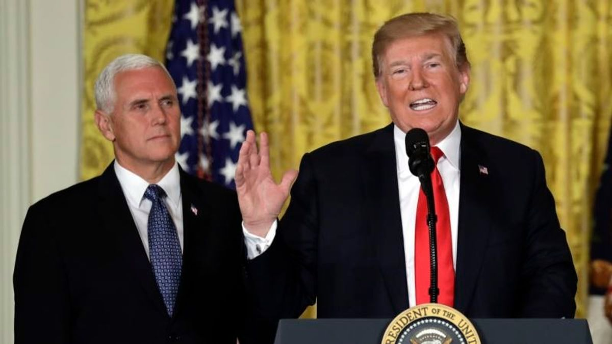 Trump: US 'Will Not Be a Migrant Camp'