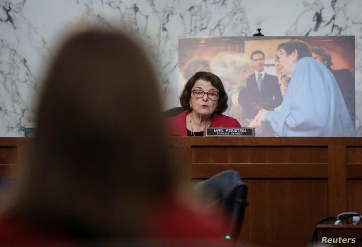 Senate Judiciary Committee Ranking Member Senator Dianne Feinstein (D-CA) questions U.S. Supreme Court nominee
