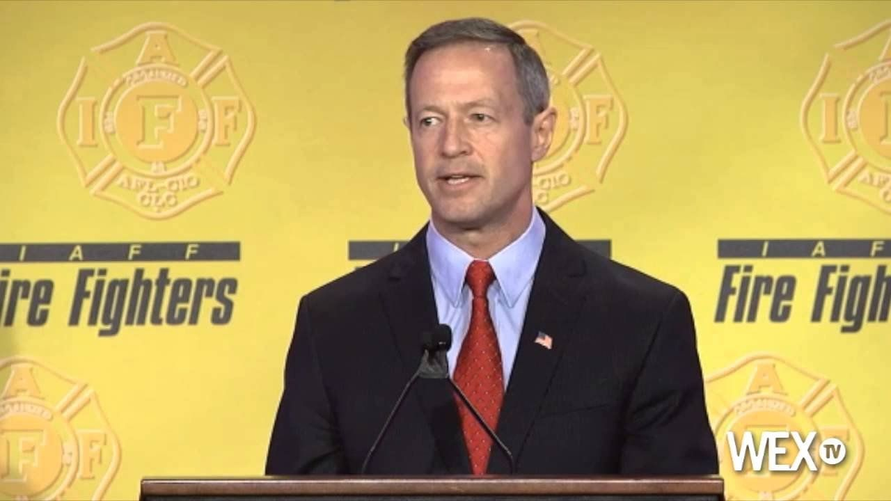Gov. Martin O'Malley takes on GOP in speech to firefighters