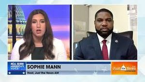 Sophie Mann asks Byron Donalds about Elise Stefanik to replace Rep. Liz Cheney as House GOP chair