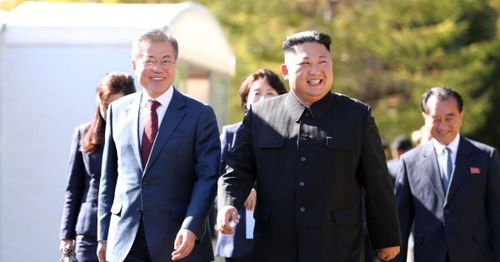 South Korea president urges Biden to negotiate with North Korea, 'build on' what Trump left