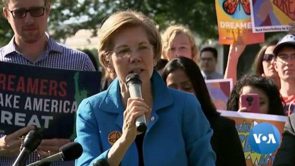 Warren Takes Step Toward 2020 Presidential Bid