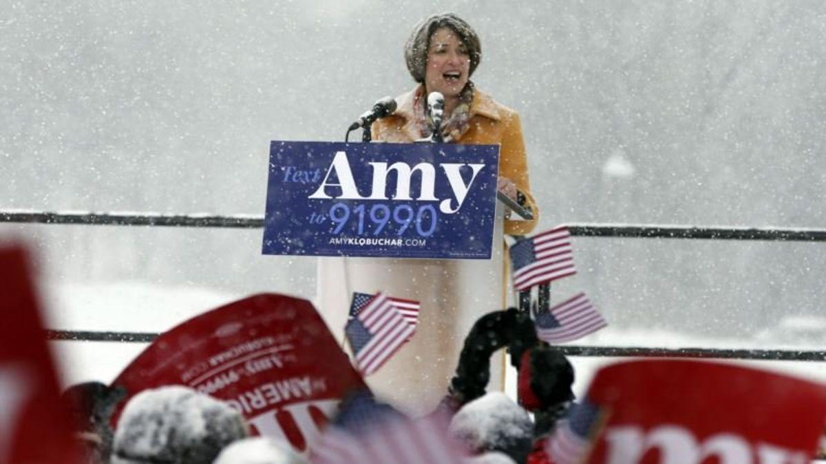 Minnesota Senator Amy Klobuchar Enters Crowded Democratic Presidential Race