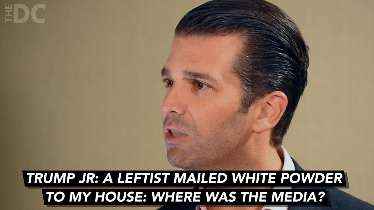Trump Jr: Leftists Attacked me and Media was Silent