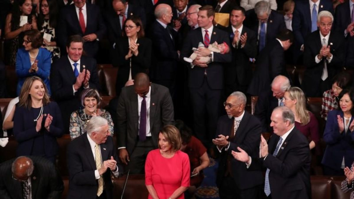 Democrats Take Control of US House