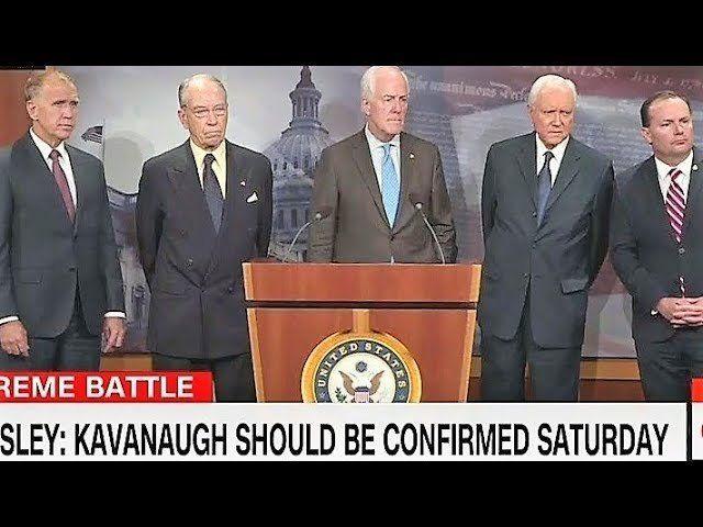 GOP Senators Finally Grow a Pair & Publicly Expose the Deep State Smear Campaign Against #Kavanaugh!