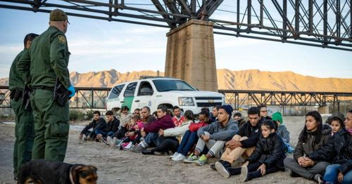 Number of migrants apprehended at US southern border in March, most per month in two decades