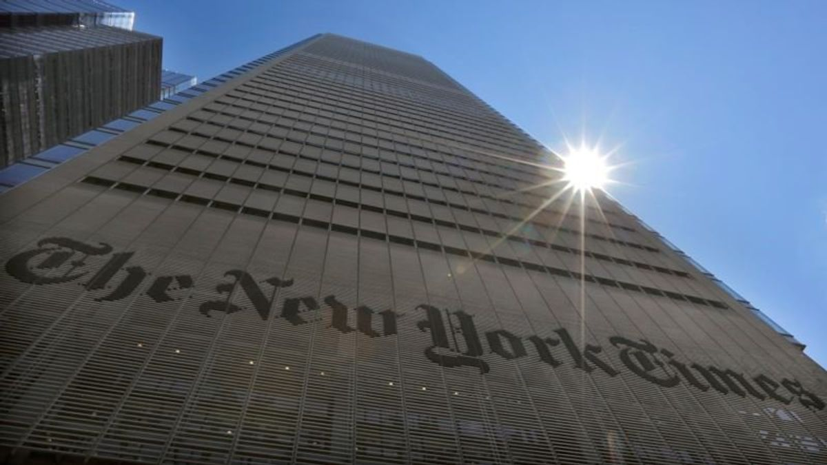 Times' Decision to Publish Anonymous Column Carries Risks