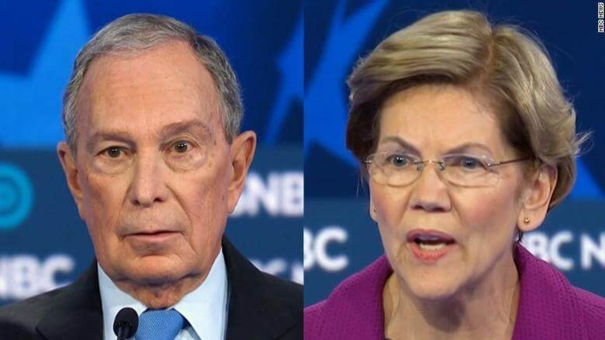 Warren Trashes Bloomberg and Trump Wins Democrat Debate