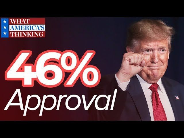 A look at President Trump's new job approval numbers