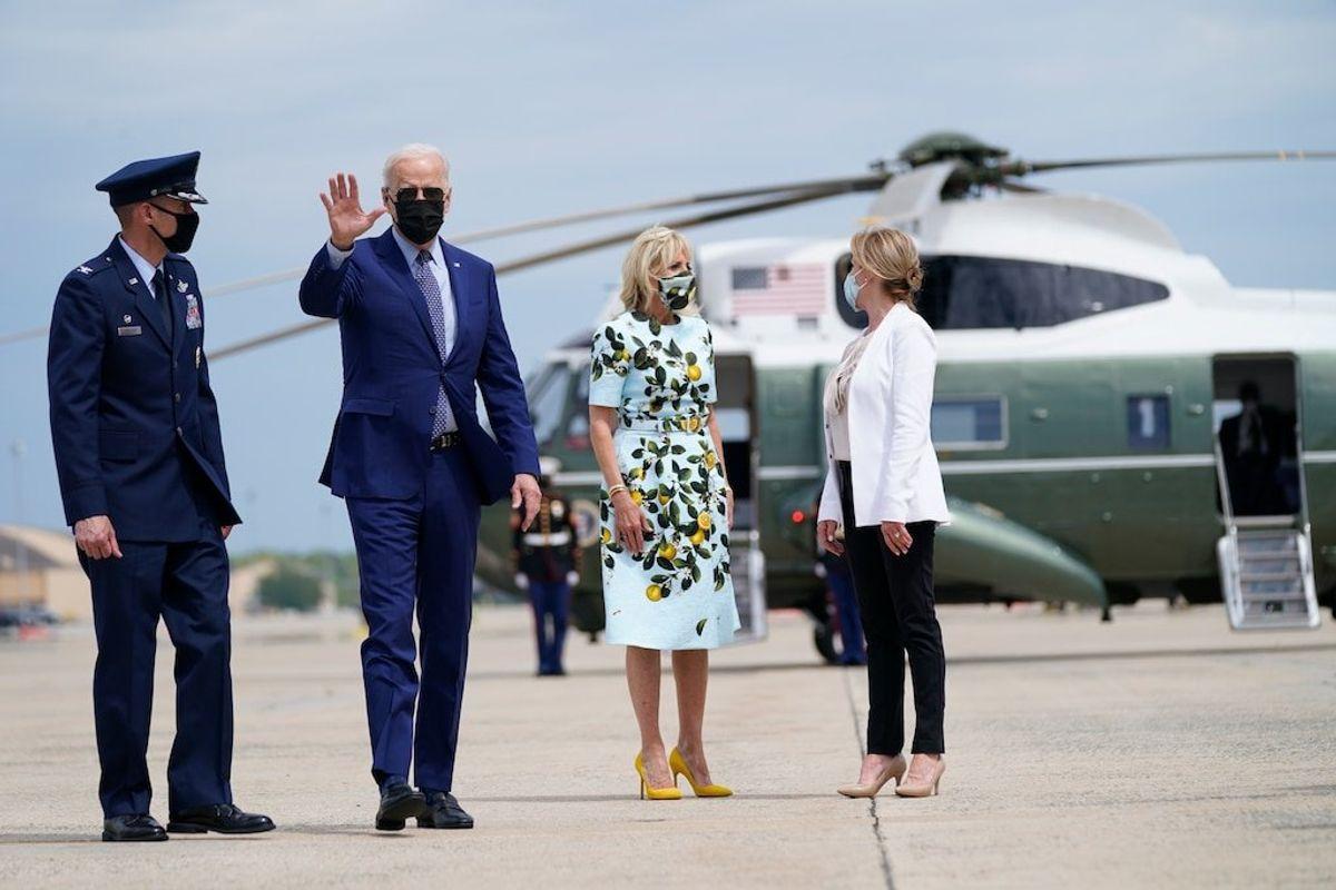 Biden, Aides Tout Infrastructure, Family Aid Proposals