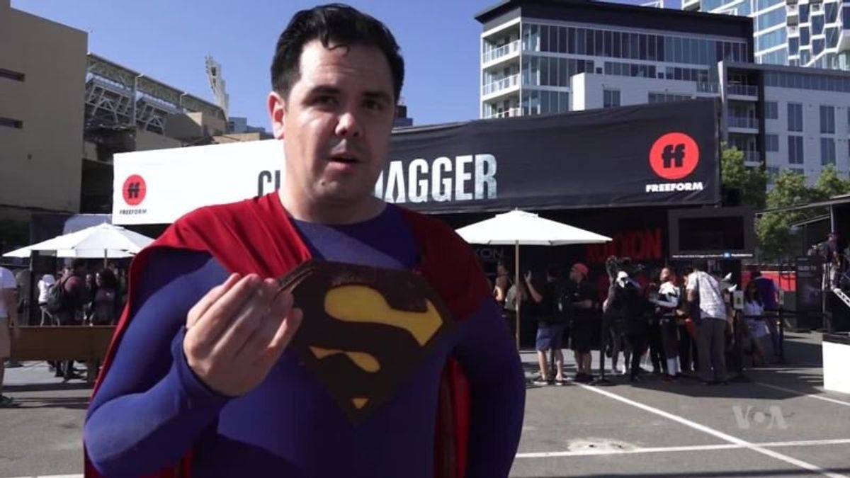 Fans Find Superheroes Relevant in US Political and Social Debate