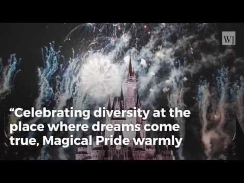 Disney Folds to LGBTQ Agenda, Holding Official Pride Parade