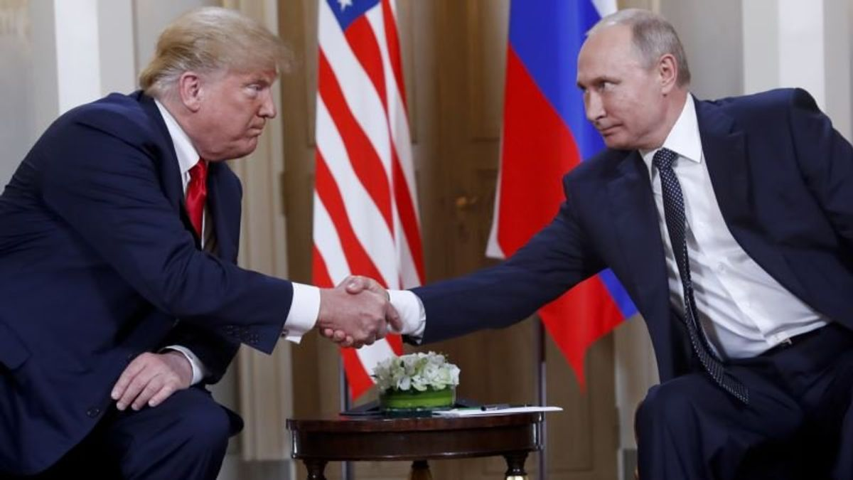 Trump: 'Gave Up Nothing' to Putin at Summit