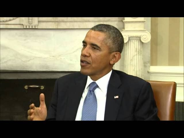 Obama: 'Not at all' resigned to a government shutdown