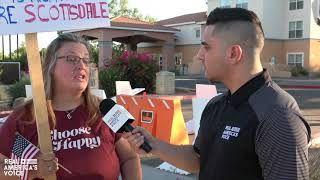 "EXCLUSIVE: Drew Hernandez travels to Scottsdale, AZ to investigate one of Biden's ""Migrant Hotels"""