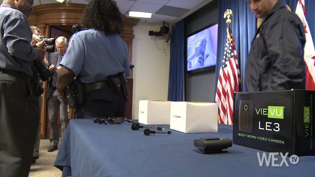 D.C. police will test body cameras