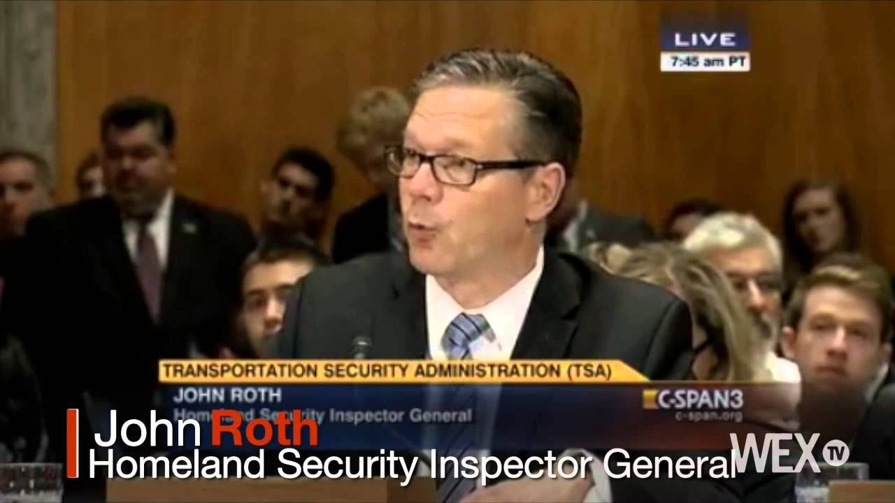 TSA's shortcomings exposed in recent report