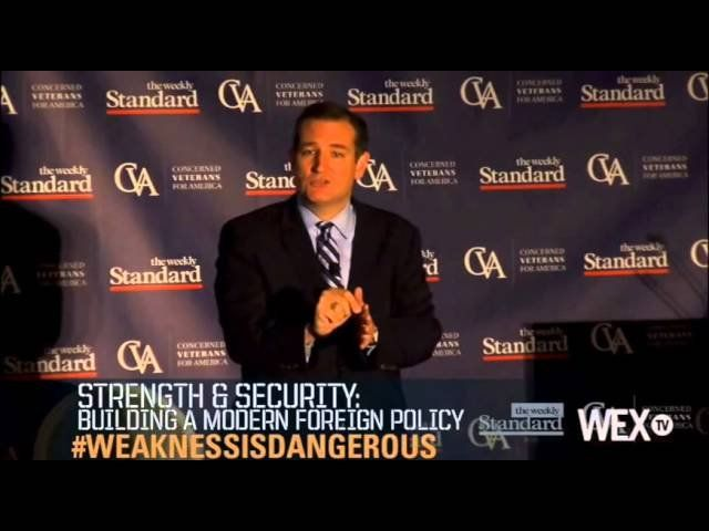 Ted Cruz Full Speech – Strength & Security: Building a Modern Foreign Policy