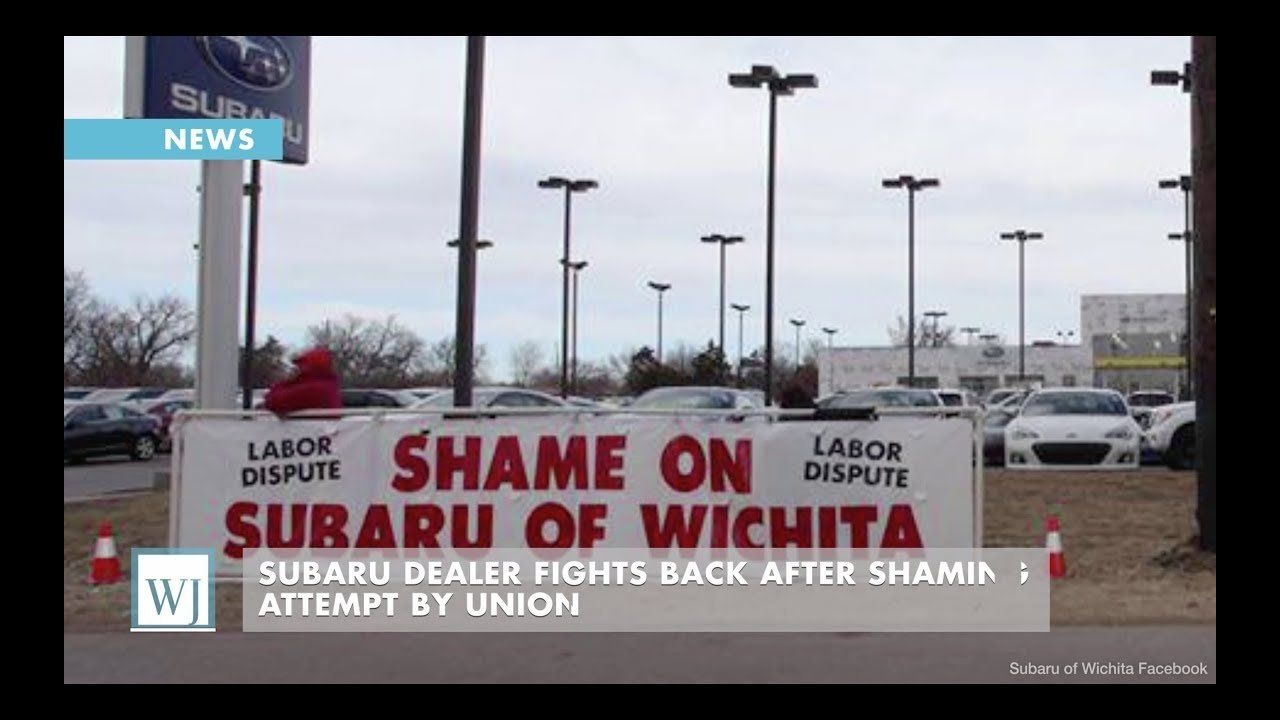 Subaru Dealer Fights Back After Shaming Attempt By Union