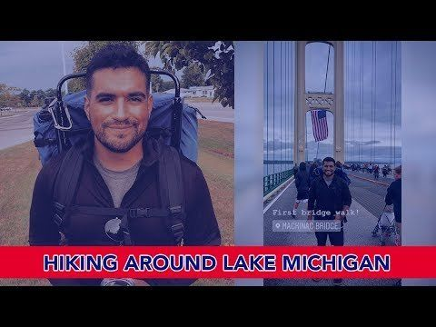Veteran Hikes around Lake Michigan!