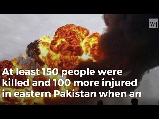 Overturned Tanker Explodes In Pakistan, Killing At Least 150