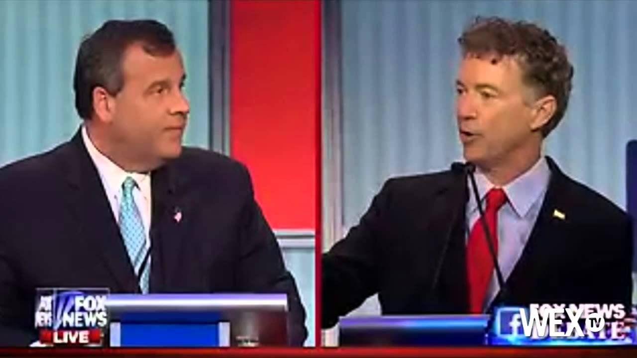 Christie, Paul clash at GOP debate