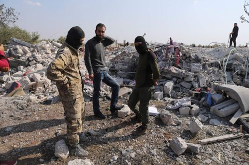 Islamic State Leader 'Crawled Into a Hole' to Die, Pentagon Says