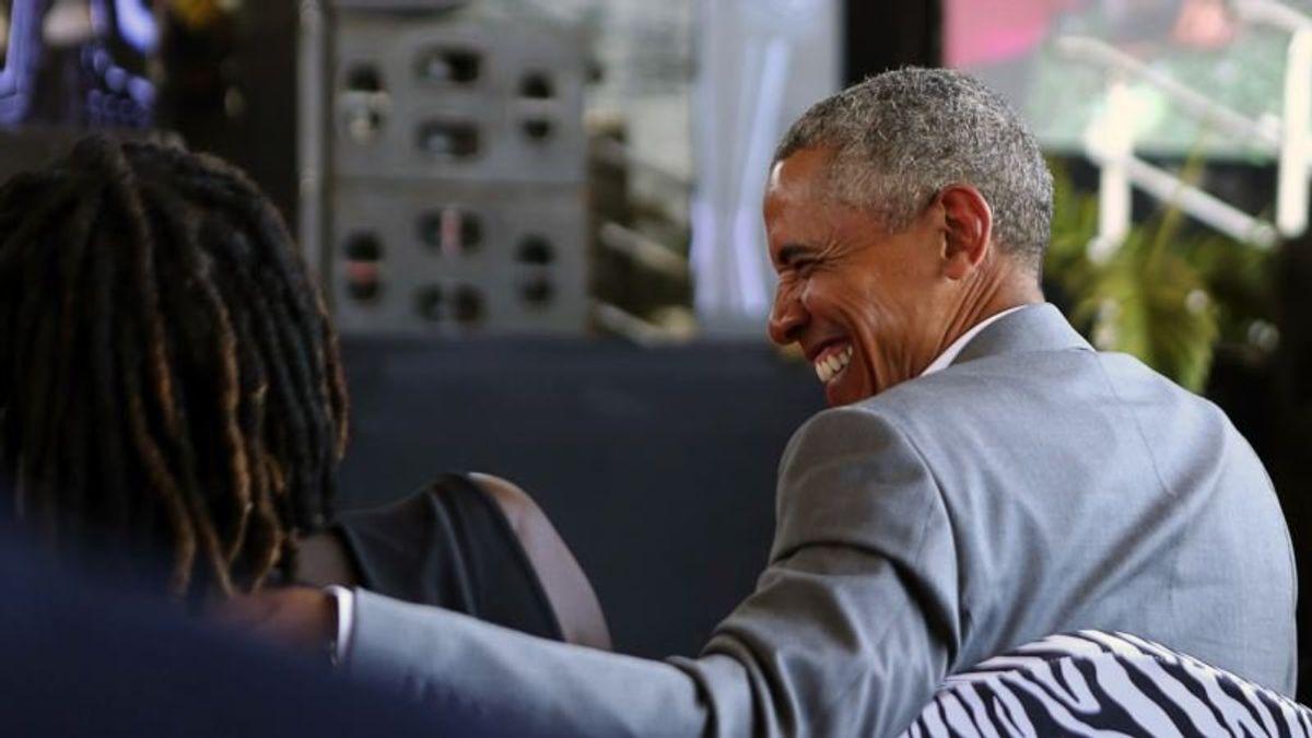 Obama to Deliver Mandela Address in Likely Rebuke to Trump